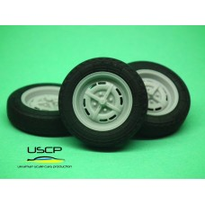15 inch Lemmerz GT Steels with tires - 24W062
