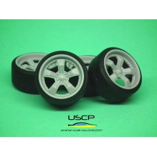 18 inch American Racing Shelby Razor with stance tires - 24W061