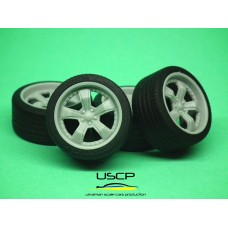 18 inch American Racing Shelby Razor with tires - 24W061