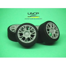 18 inch BBS CK with tires - 24W059