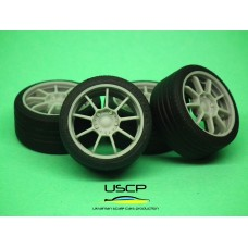 18 inch OZ Alleggerita with tires for Tamiya Aoshima Hasegawa