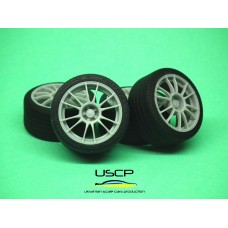 18 inch OZ Ultraleggera with tires - 24W058